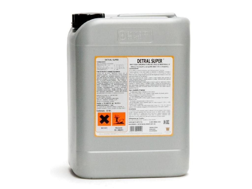 DETRAL SUPER Concentrato emulsionabile per uso civile ad azione abbattente 10L