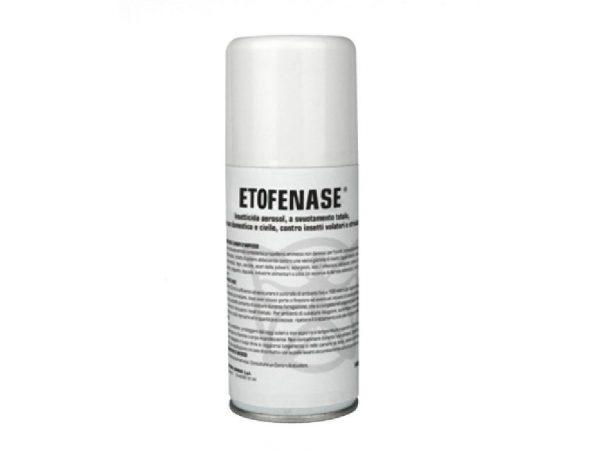 ETOFENASE Insetticida aerosol a base di Etofenprox
